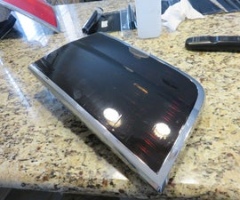 How to tint tail lights with adhesive vinyl.