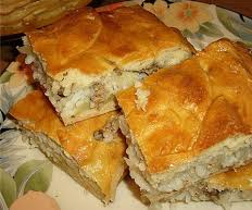 Russian Beef & Cabbage pie