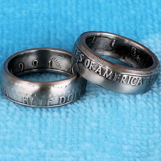 Double Sided Coin Ring