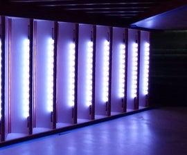 LED NeoPixel Motion Sensor Stair Lighting