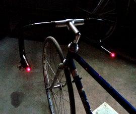 Bike Turn Signal & Brake Light Handlebars