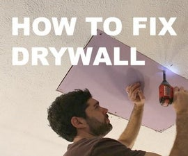 How to Fix Drywall (Save MUCHO Dinero)