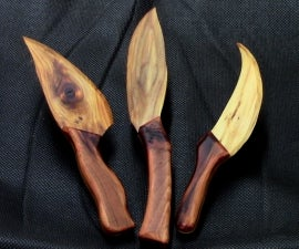 Wooden Cheese Knives