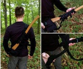 Quick-Release Axe Holster