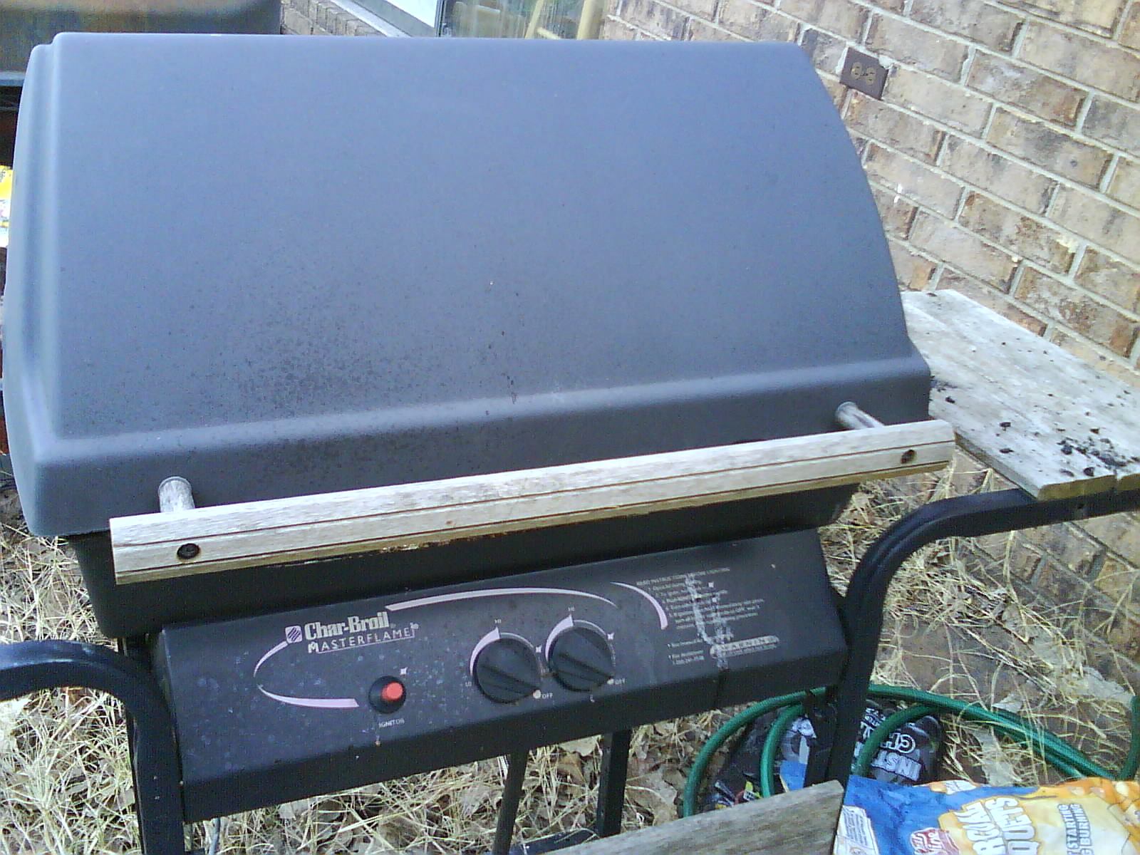 Picture of Turn Gas Grill Into Charcoal Grill