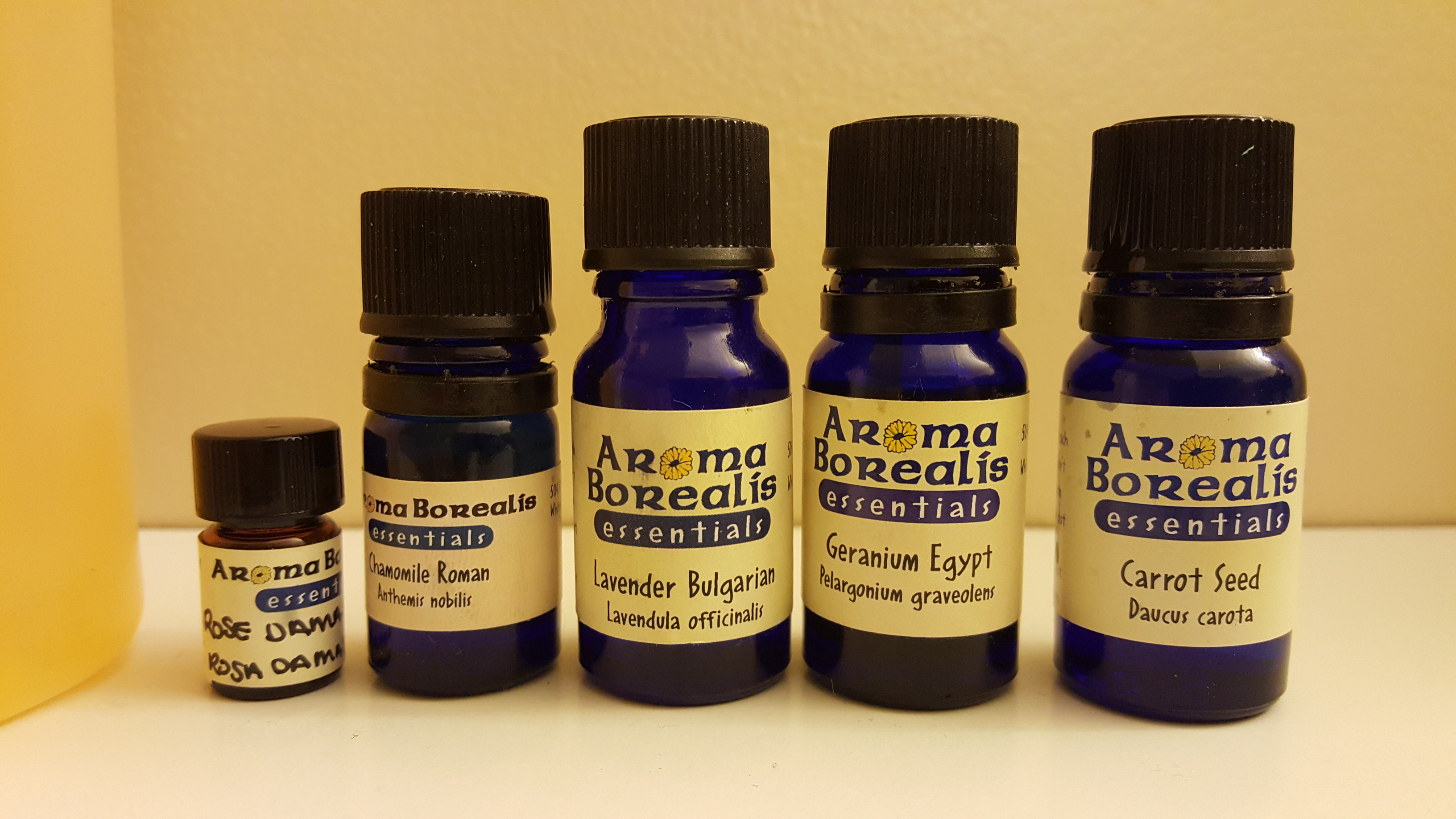 Picture of Essential Oils and Carrier Oil