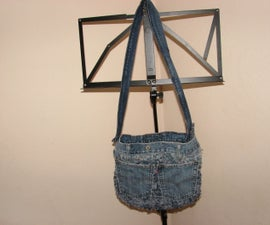 Worn Out Jeans Bag