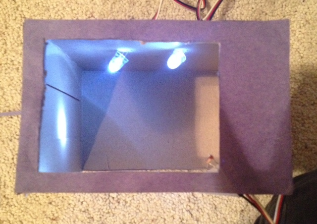 Picture of Light-Controlled Box