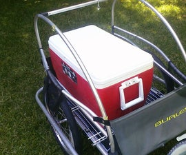Easiest bike cargo trailer EVER!