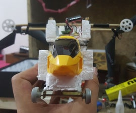 HeliCar - Making a Car From an Old Toy Helicopter
