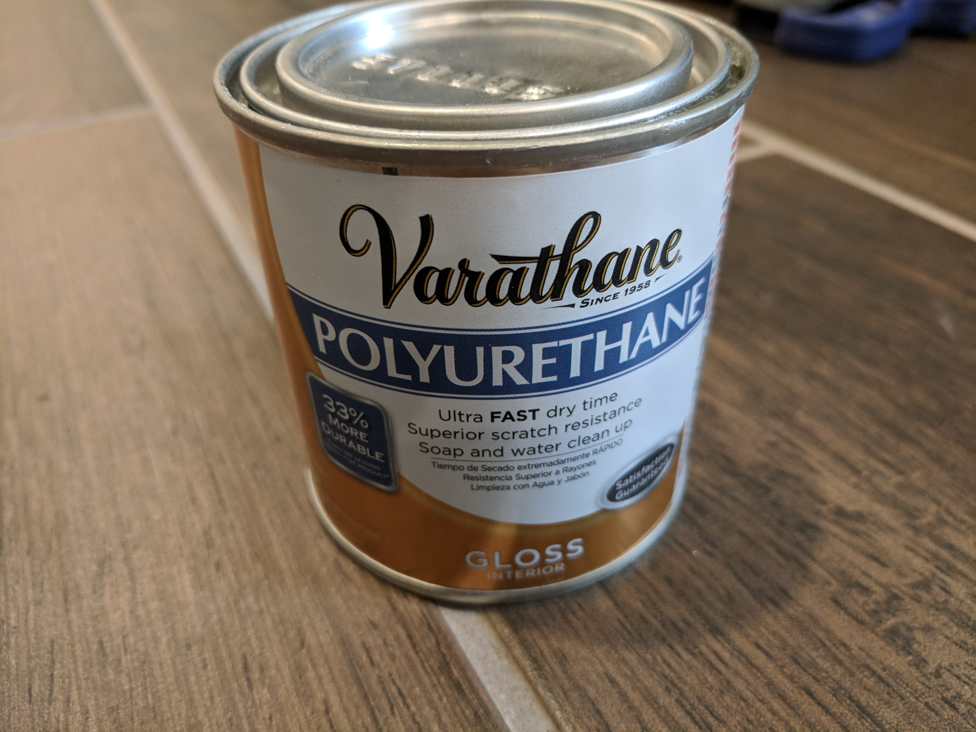 Picture of Apply the Polyurethane Finish
