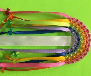 Silk Ribbon Rainbows