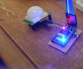 PIR with Light Sensor