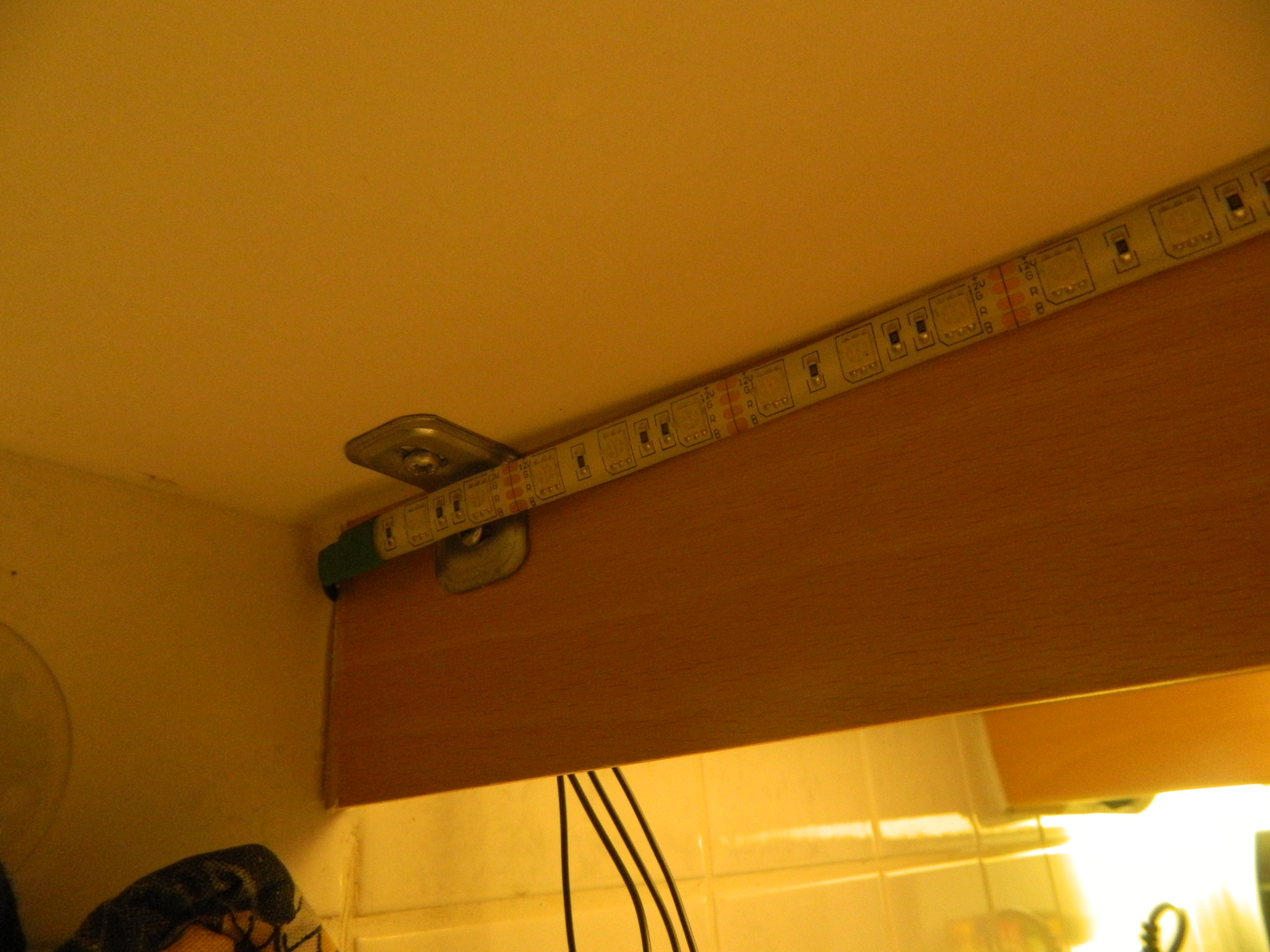 Picture of Hide the Led Strip.