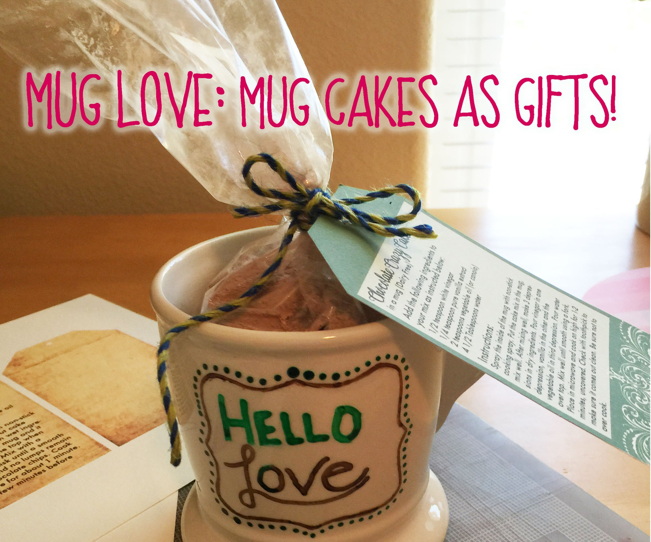 Mug Cake Gift Sets : 4 Steps (with Pictures) - Instructables