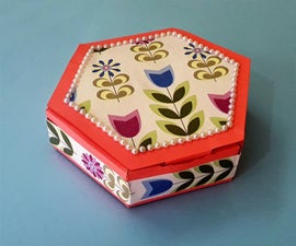How to Make Easy Paper Gift Box?