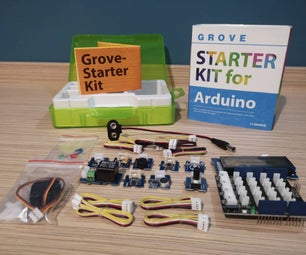 9 Arduino Tutorials for Grove Starter KIT From Seeed Studio