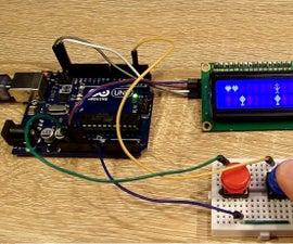 JumpMan Game Arduino HD44780 I2c