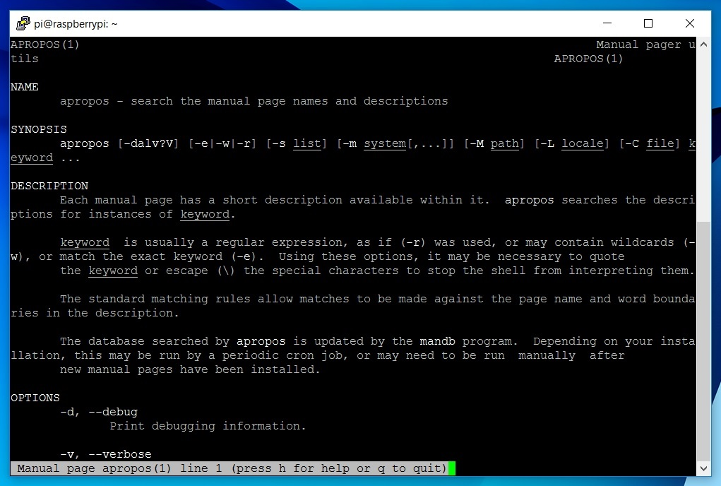 Picture of Getting Help in the Terminal #1: Manual & Info Pages