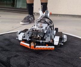 R/C Lego NXT Flamethrower Battle-bot