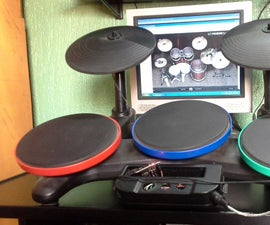 Arduino MIDI Drums (Wii Band Hero)+DAW+VST