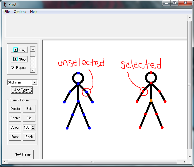 Picture of Stick Figures