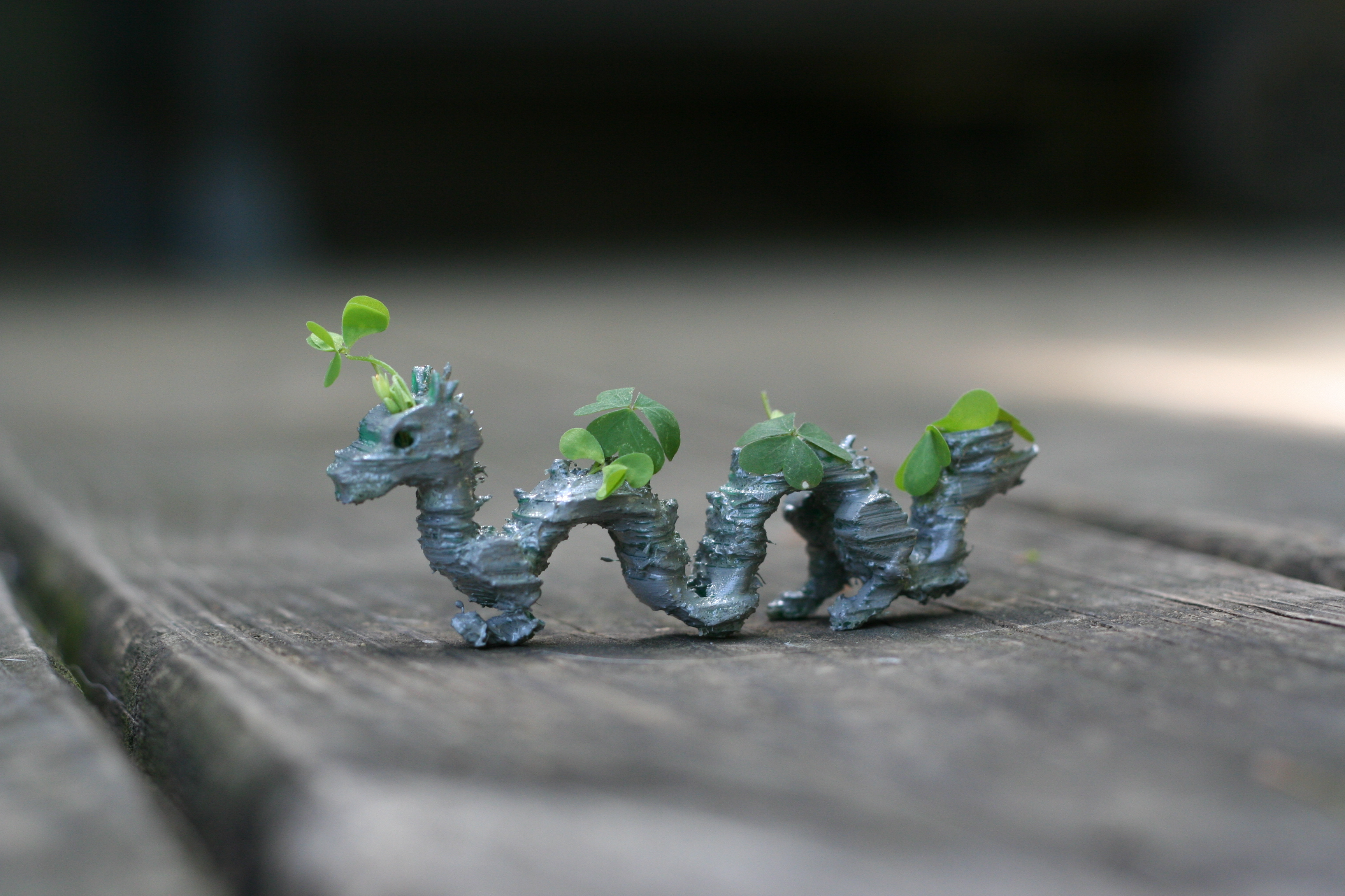 Picture of 3d Printed Dragon Planter Using Tinkercad