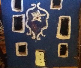 Cardboard Polly Pocket Dollhouse