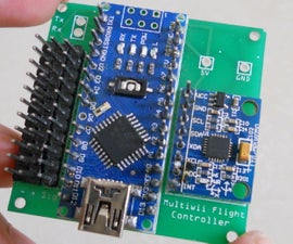 DIY Arduino Controled Multiwii Flight Controller
