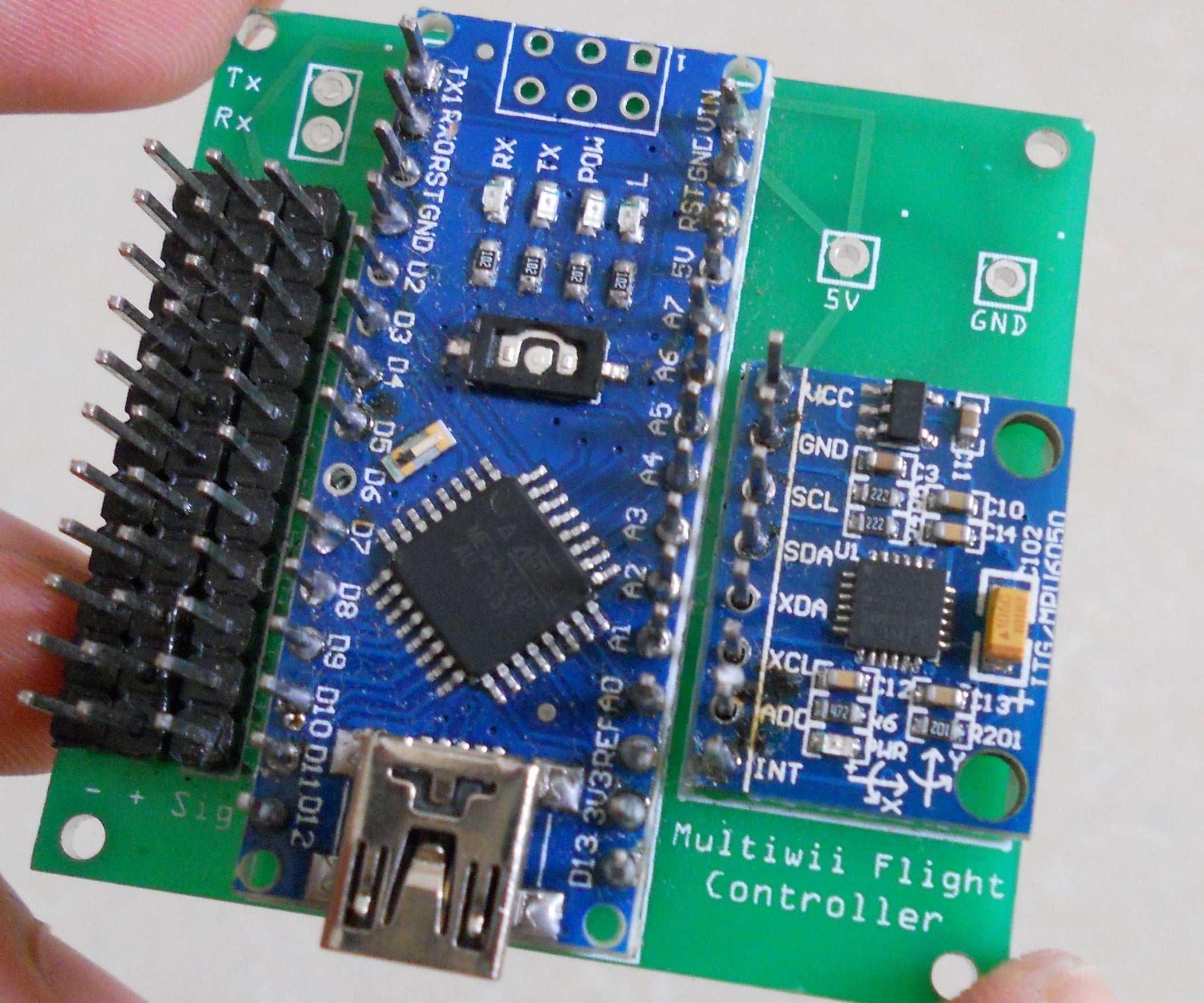 diy arduino controled multiwii flight controller: 7 steps (with pictures)
