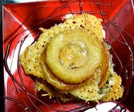 Molecular Apple Pie w/ Goldshlager Orb