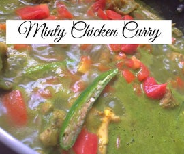 Minty Chicken Curry