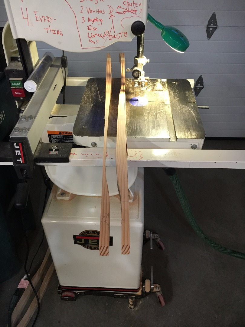 Picture of Compound Curves on the Bandsaw