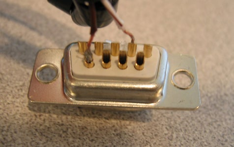 Solder the Serial Port Connector