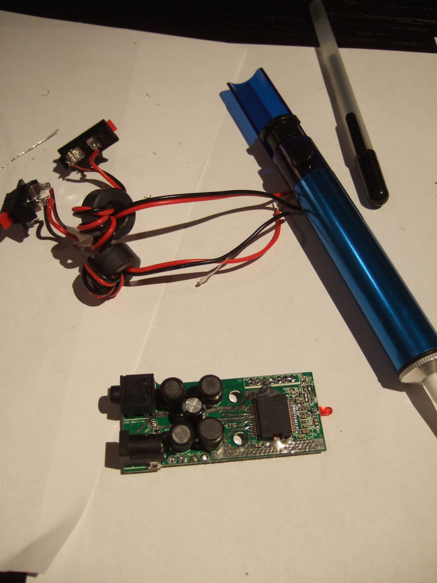 Picture of Modifying the T-Amp (Optional)