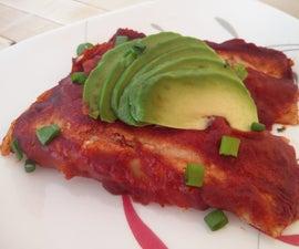 Enchiladas (gluten Free and Vegan)