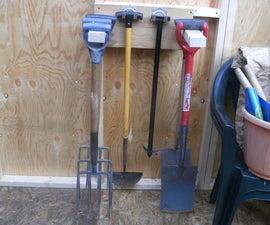 Garden Tool Rack 2