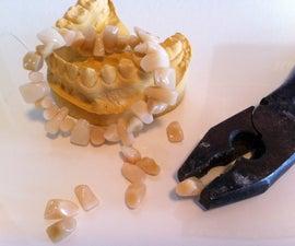 The Teethlet - A Bracelet made of teeth