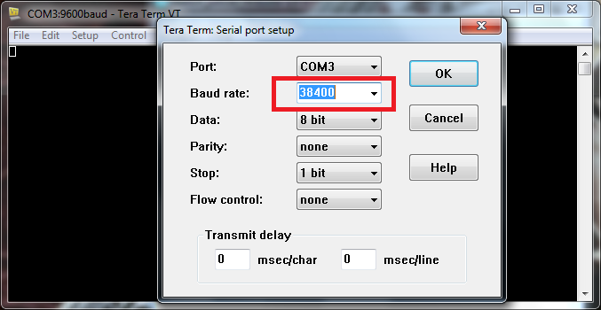 Picture of Setting Up Connection