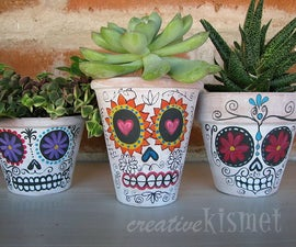 Day of the Dead Planters.