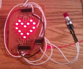 Animated LED Heart