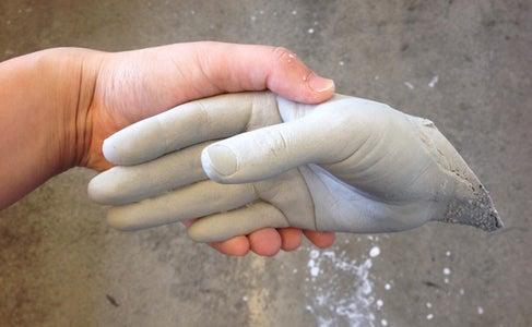 Life Casting My Hand