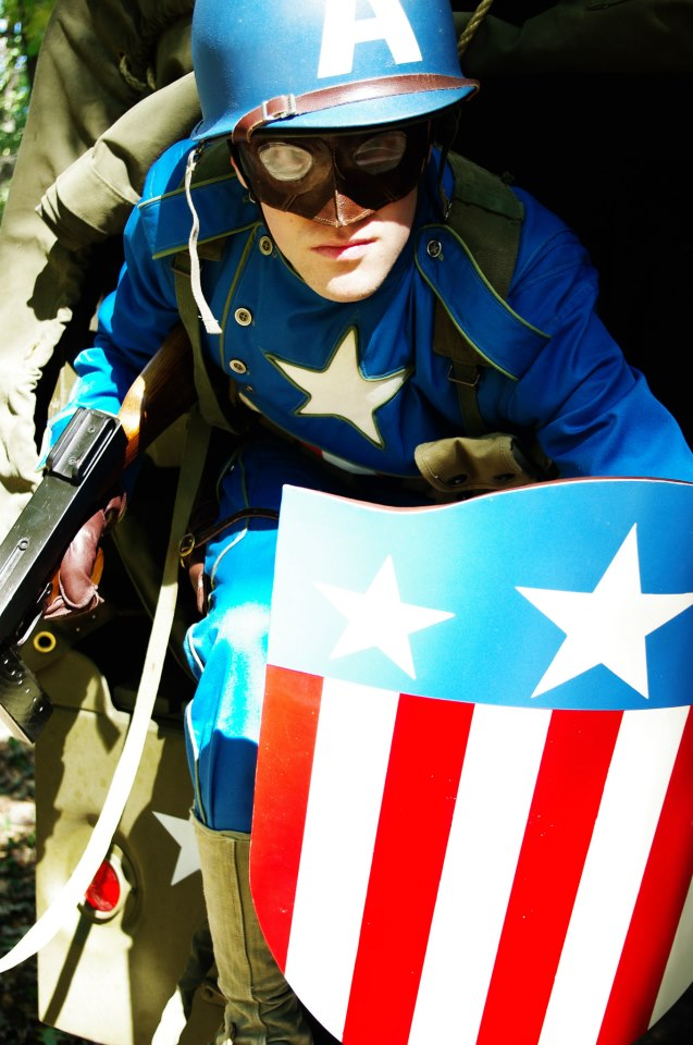 Picture of WWII Captain America