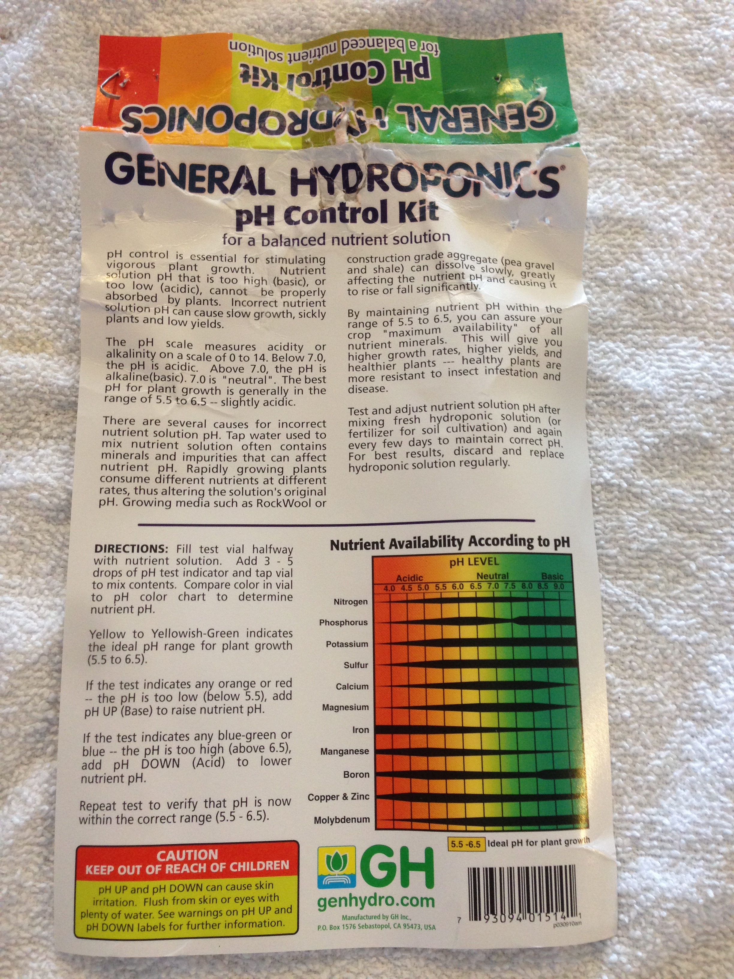 Picture of How to Mix Hydroponic Liquid Nutrient Solution