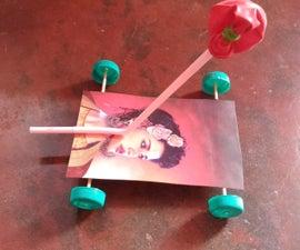Baloon Toy Car