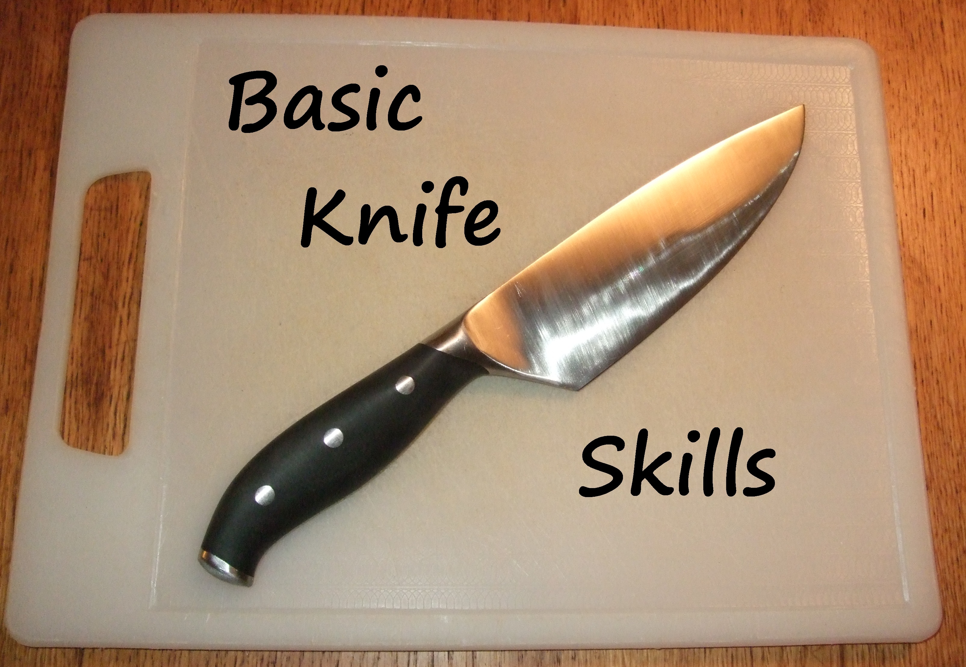 Basic Knife Skills: 5 Steps (with Pictures)