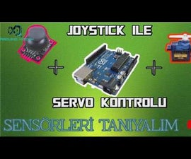 How to Controll Servo motor with Joystick module
