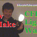 How to Make A CFL Light Wand - The World's First Fluorescent Light Wand using a Zapper