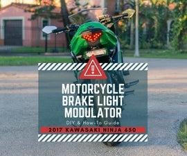 Brake Light Blinker for Motorcycles