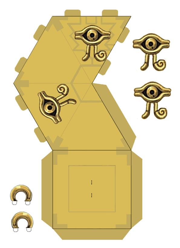 Picture of Millennium Puzzle Necklaces